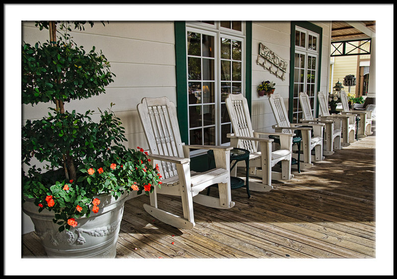 Front Porch/Welcome Center