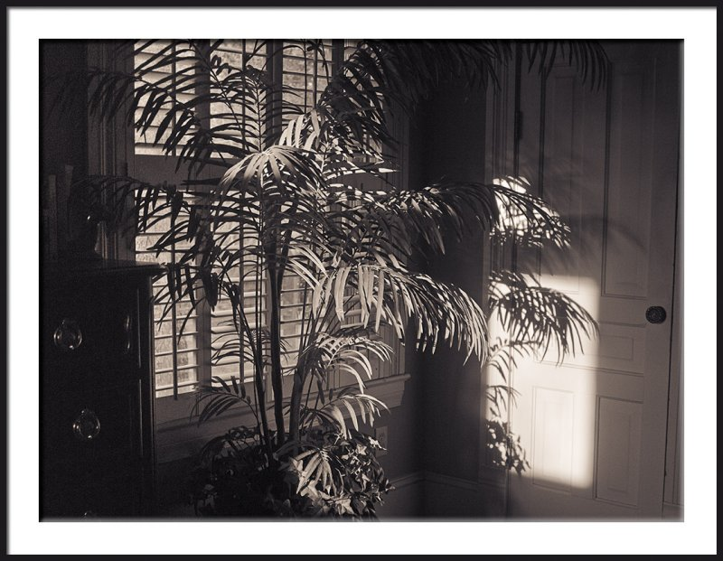 Early Morning Bedroom Light