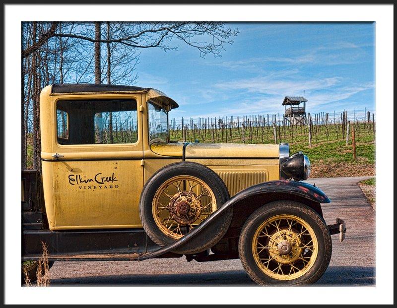 Elkin Creek Winery Truck