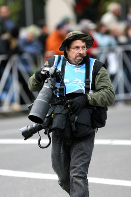 Typical overloaded Nikon photographer...