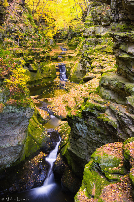 Five waterfalls