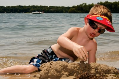 Ryan out on Lake Minnetonka