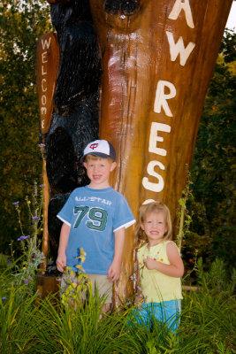 Ryan and cait at bearpaw resort