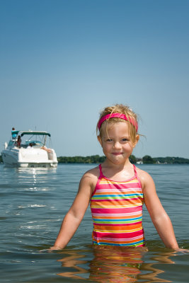 Caitlin at Big Island, Lake Minnetonka