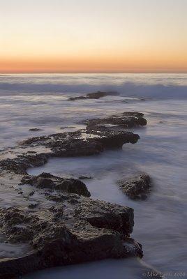 Whispy waters (La Jolla cove)