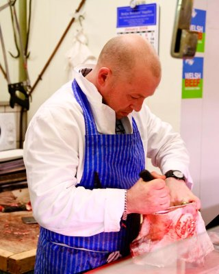 Welsh butcher