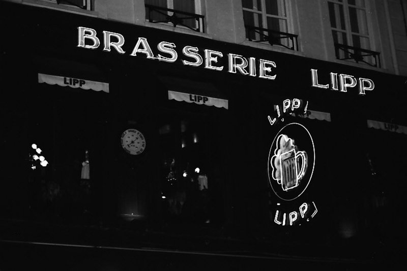 Brasserie Lipp - Paris, France