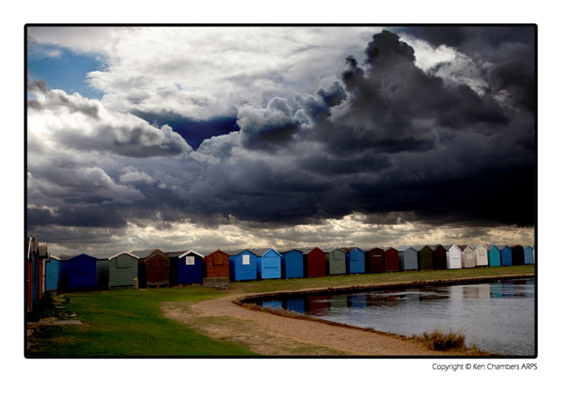 Storm Clouds at Brightlingsea Essex