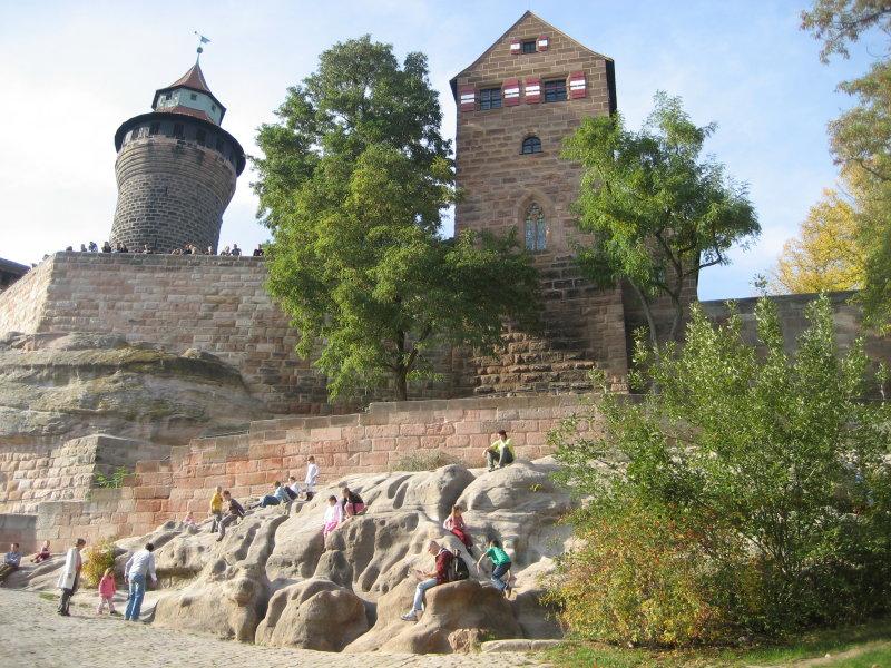Nuremberg Kids Playing at Castle.JPG