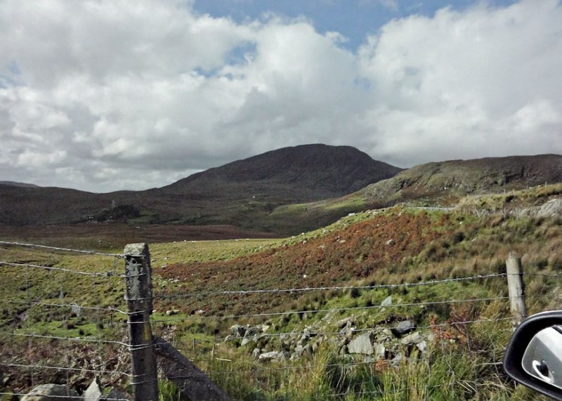 On the road between Kenmare and Killarney.