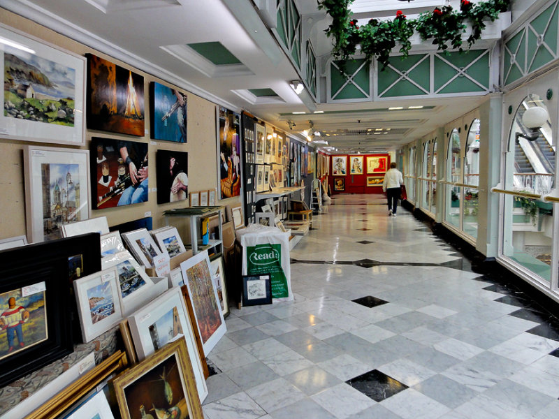 Art gallery, Stephens Green Shopping Centre
