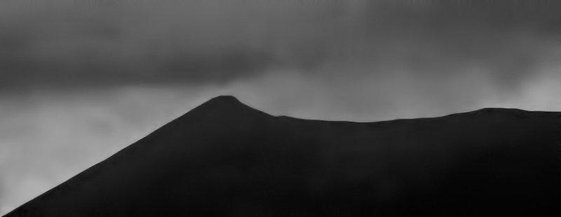 A mountain in Kerry B&W