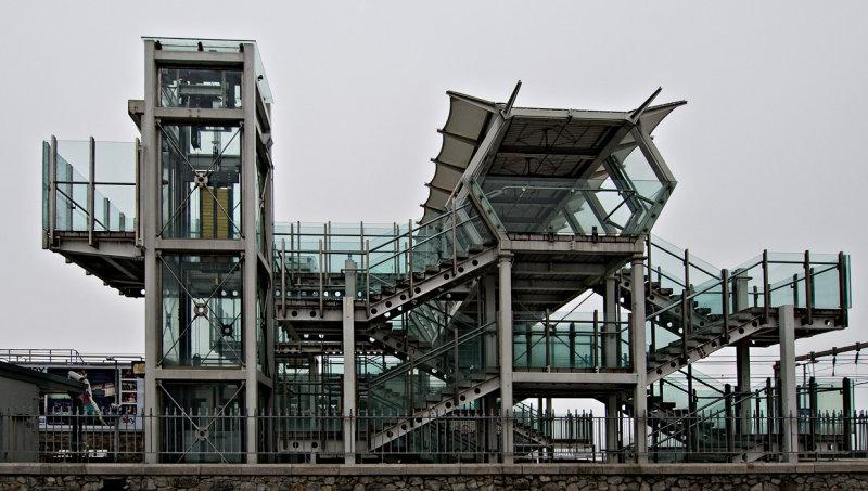 Blackrock Station - Walkway - Dart