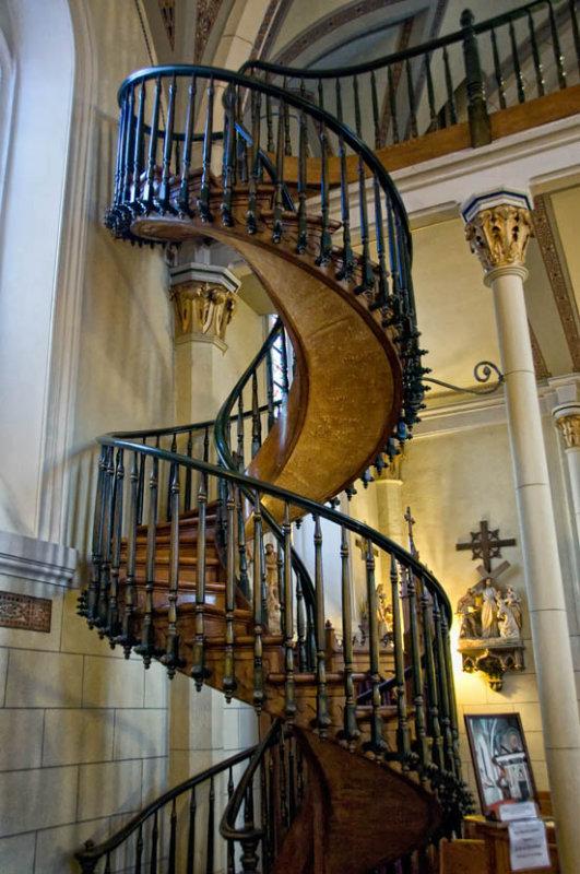 Magic Stairs at Loretto Chapel, Santa Fe