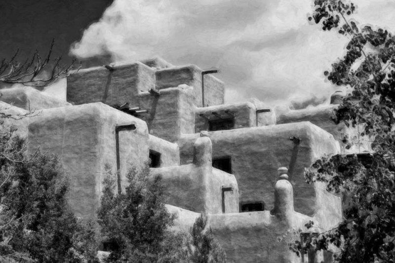 Santa Fe Pueblo Style