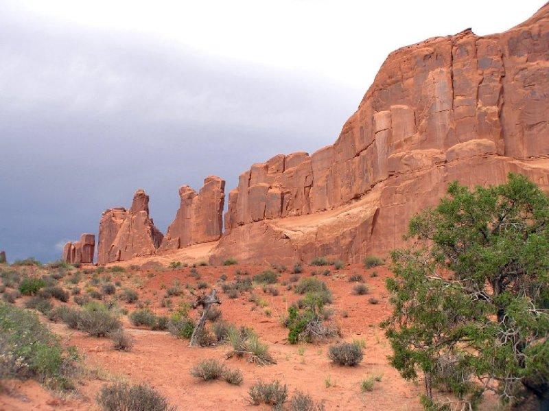Park Avenue Arches National Park Moab Utah