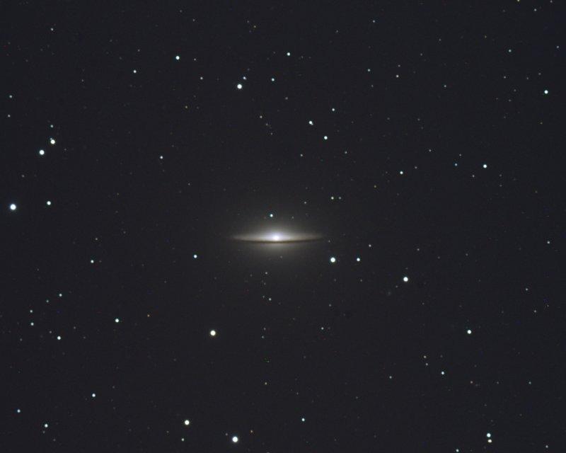M104 - Sombrero Galaxy 28-Apr-2009
