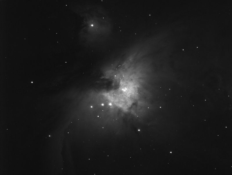 Into the heart of Orion - M42 with 5 second exposures  07-Feb-2011