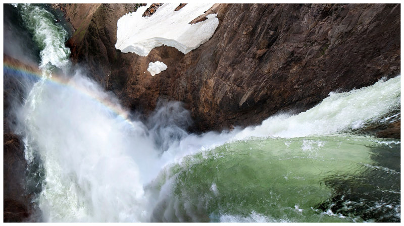 Lower Falls and Rainbow