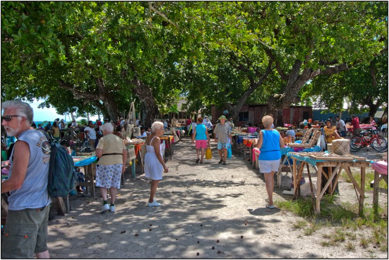 Fanning Island Market