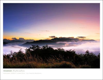 The dawn of fushoushan