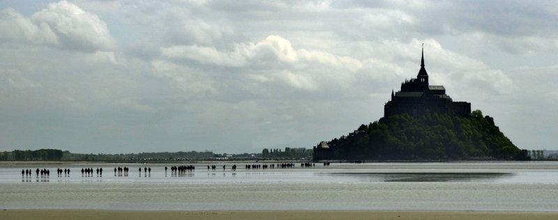 Visite de la baie du Mt St Michel