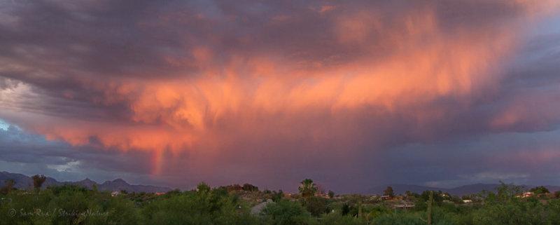 Rainbowed Sunset