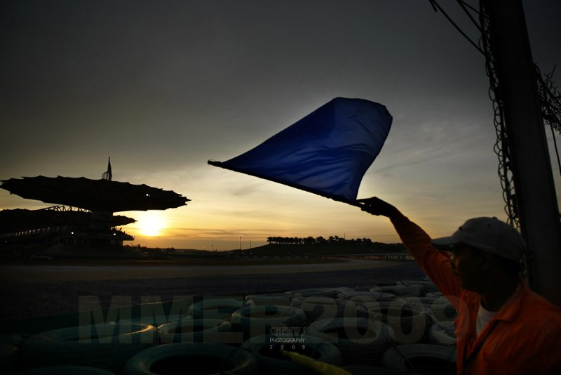 Track marshal signaling