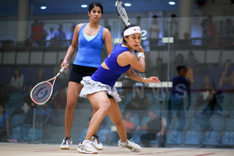 Nicol David vs Joshna Chinappa