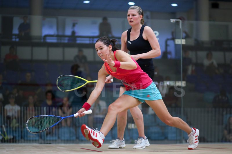 Jenny Duncalf vs Line Hansen