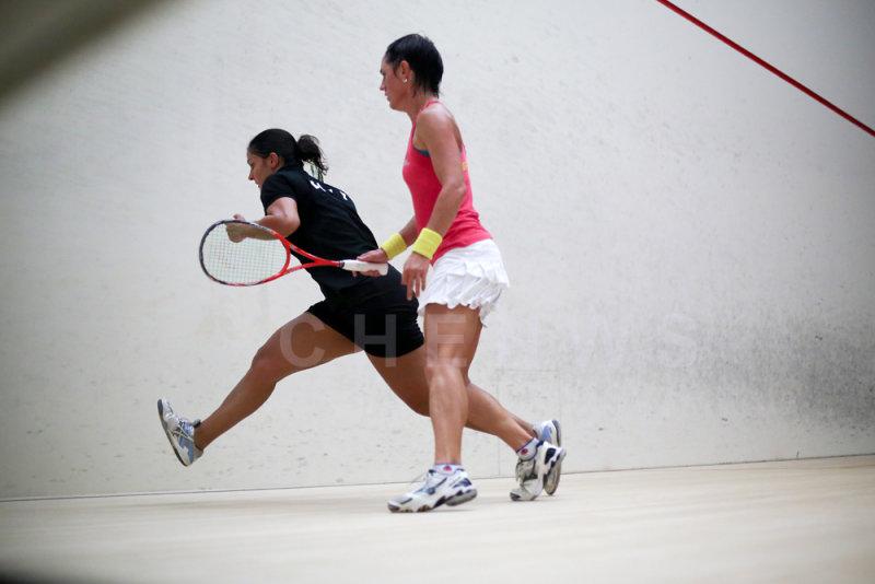 Rachael Grinham vs Omneya Abdel Kawy