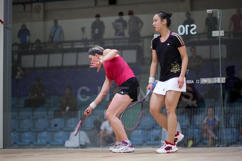 Alison Waters vs Liu Tsz-Ling