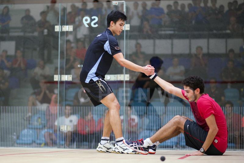 Ivan Yuen vs Karim Abdel Gawad