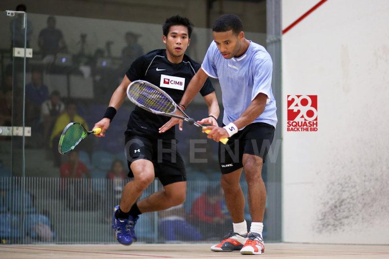 Adrian Grant vs Mohd Nafiizwan