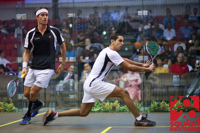 Mens semi-final: Borjan Golan vs Tarek Momen