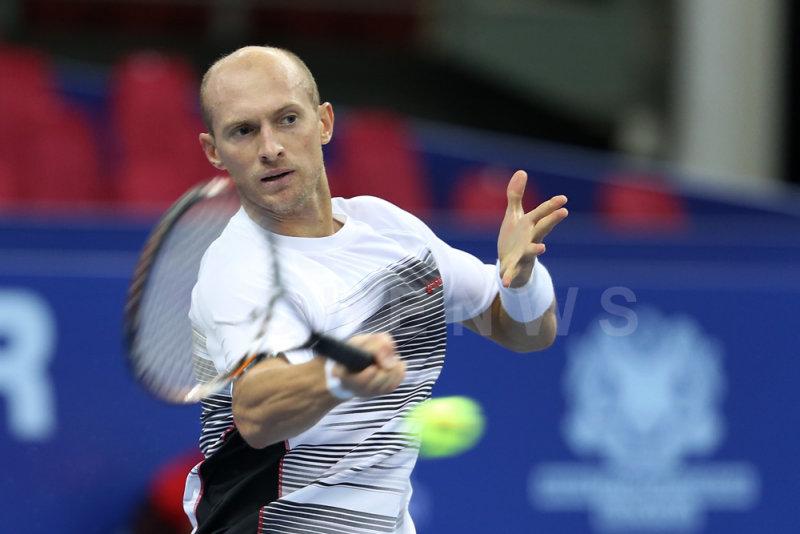 Second Round: Nikolay Davydenko (Russia)
