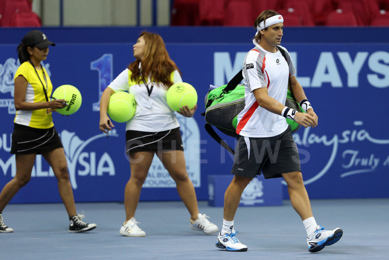 ATP world rank #5 David Ferrer (Spain)
