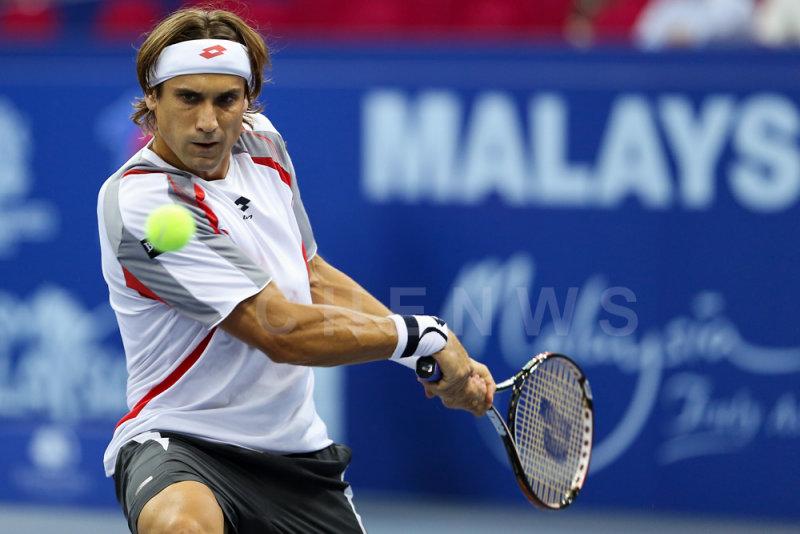 Second Round: David Ferrer (Spain)