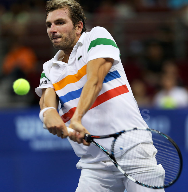 Quarter finals: Julien Benneteau (France)