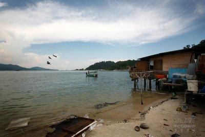 Pangkor : Village