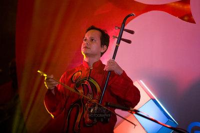 Erhu player : Aseana Percussion Unit