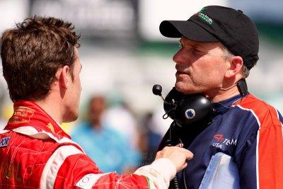 Felipe chatting with Team USA member
