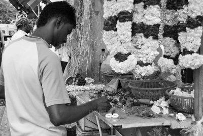 Making a garland