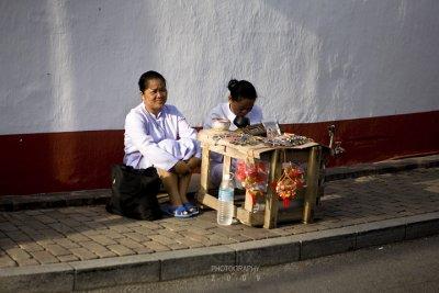 Nuns on the street