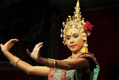 Siamese dancer, Bangkok