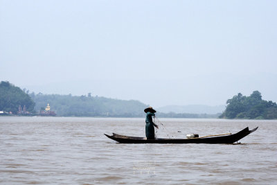 Laotian fisherman
