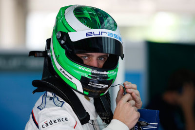 SEPANG, MALAYSIA - MAY 30: Race car driver Chris Wootton of Eurasia Motorsport prepares to take the tracks at the Asian Festival