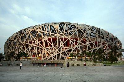 The Bird Nest Olympic Stadium