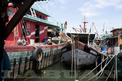 Fishing boats, Labuan