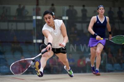 Nour El Sherbini vs Gaby Huber